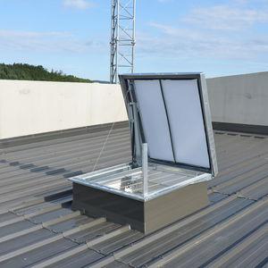 botola per tetto / quadrata / con scale / in policarbonato