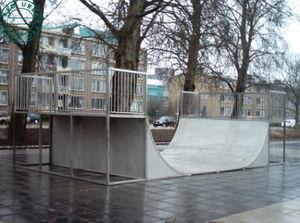 rampa per skatepark