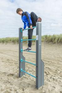 scala a pioli per percorso vita / in legno / in acciaio