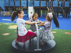 gioco a rotazione per bambini / per parco giochi