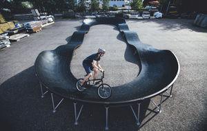 skatepark in calcestruzzo
