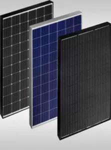 pannello fotovoltaico policristallino / colorato / per tetto / black