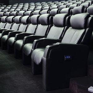 poltrona per cinema in tessuto