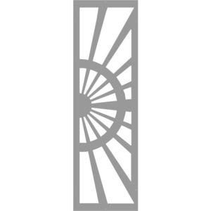 cancelli battenti / scorrevoli / in metallo / a pannello