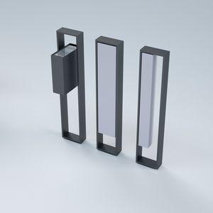 poggia-biciclette a pavimento / in acciaio / in acciaio termolaccato / in acciaio galvanizzato