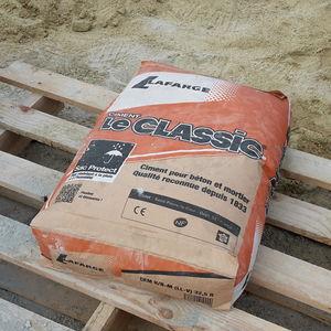 cemento Portland composito / per pavimento / per cantiere / per massetto