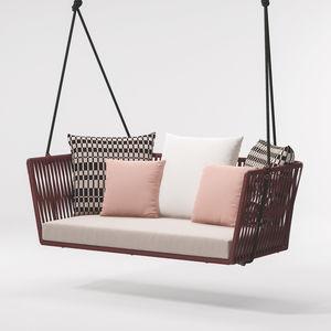 dondolo da giardino in corda / in alluminio / per hotel / per ristorante