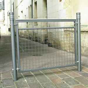 barriera di protezione / fissa / in alluminio / in maglia metallica