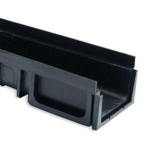 canaletta in composito / con griglie / per piscina / di recupero acque meteoriche