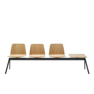 sedute su barra in legno