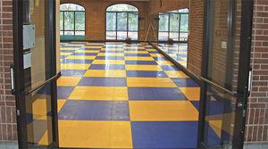piastrelle flessibili da interno / da pavimento / in vinile / antiscivolo
