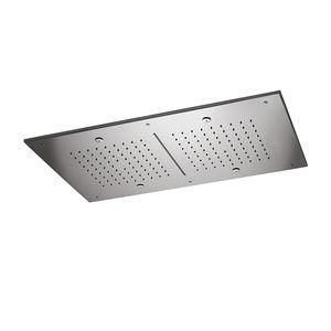 soffione doccia da soffitto / rettangolare / a pioggia / a cascata