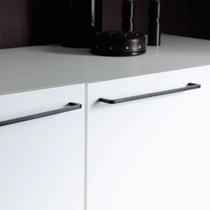 maniglia per mobile in alluminio anodizzato