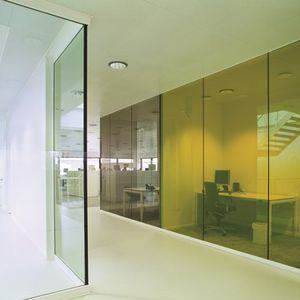 pannello in vetro di sicurezza / tagliafuoco / per parete / per finestra