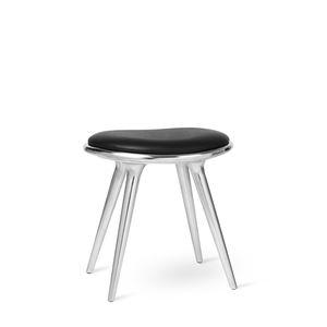 sgabello moderno / in pelle / in alluminio / contract