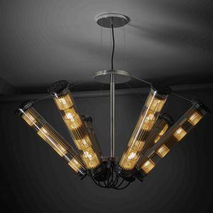 lampadario moderno / in acciaio inossidabile / LED