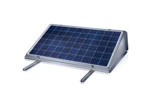 sistema di montaggio per tetti piani / aerodinamico / per impianti fotovoltaici