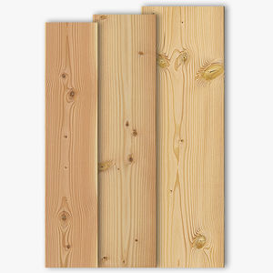 listelli per esterni in legno massiccio / in douglas / da incollare / di lunga durata