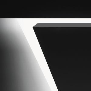 luce LED / a lampada fluorescente / lineare / in policarbonato