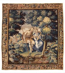 arazzo Aubusson / in stile / a motivi / in lana