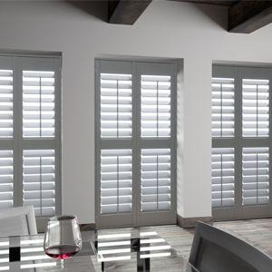 persiane a lamelle / in legno / in acciaio inox / per finestre