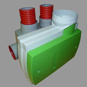 unità di ventilazione a flusso semplice