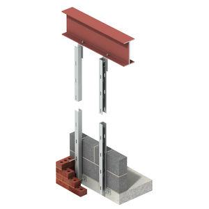 pilastro in acciaio inossidabile / di controventatura