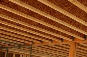 trave in legno microlamellare / a I / per solaio / ad ali uguali