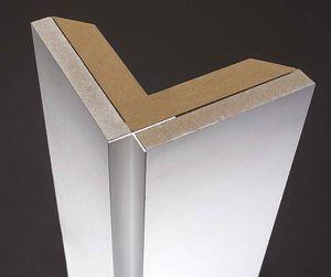profilo di finitura in alluminio anodizzato