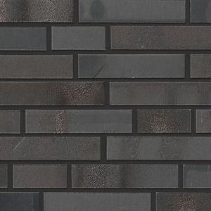 mattone faccia a vista in clinker / per facciata / nero