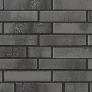 mattone faccia a vista in clinker / per facciata / grigio