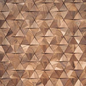 lastra di paramento in legno / da interno / 3D / finitura naturale