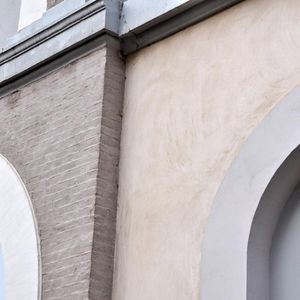 intonaco di rivestimento / per facciata / alla calce / idraulico