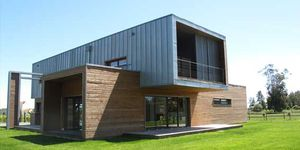 casa prefabbricata / moderna / MOB / a due piani