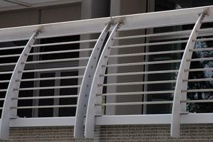 ringhiera in acciaio inox / a sbarre / da esterno / per balcone