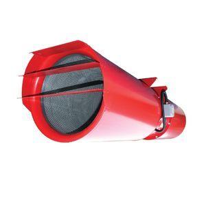 ventilatore estrattore di fumo / assiale / a soffitto / professionale