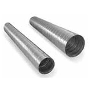 condotto di ventilazione rigido / in acciaio inox / in alluminio