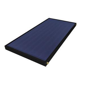 collettore solare termico piano / per scaldare l'acqua / per tetto / con telaio in alluminio