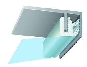 profilato per fissaggio in alluminio / per soffitto teso