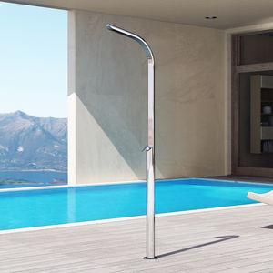 doccia da esterno per piscina / multifunzione / per parco acquatico / classica