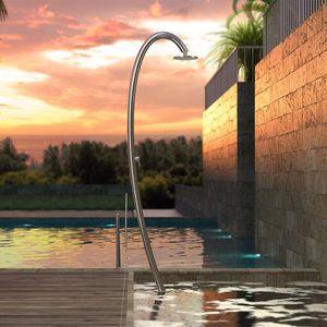 doccia da giardino per piscina