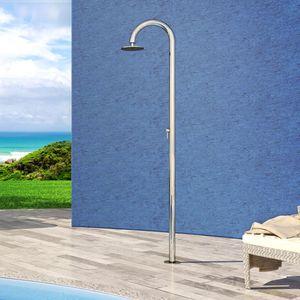 doccia da esterno per piscina