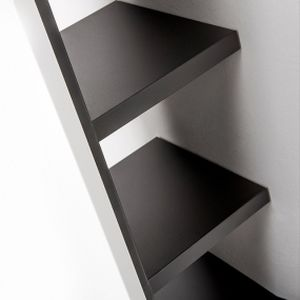 mensola / moderno / in acciaio / alluminio