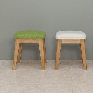 sgabello moderno / in legno / imbottito / per bambini