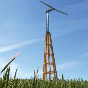 piccolo generatore eolico ad asse orizzontale