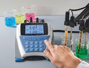 analizzatore dell'acqua multiparametrico / pH / ORP