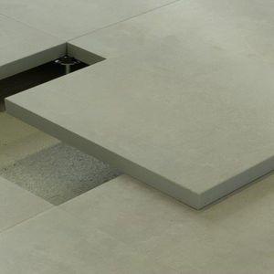 pavimento sopraelevato in solfato di calcio