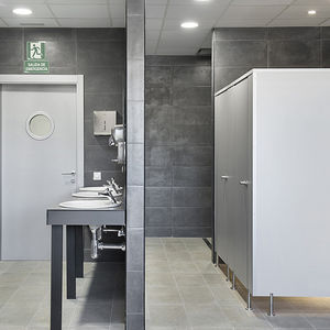 cabina WC in laminato