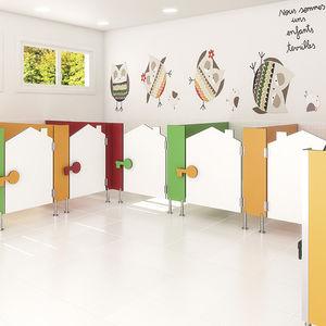 cabina WC per scuola materna
