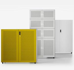 armadio classificatore basso / in ABS / con sportello battente / moderno